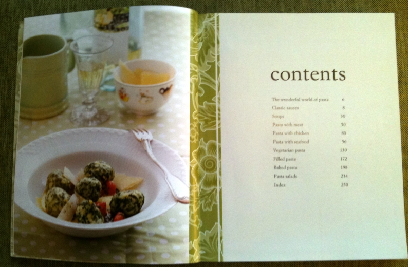 Contents of PASTA