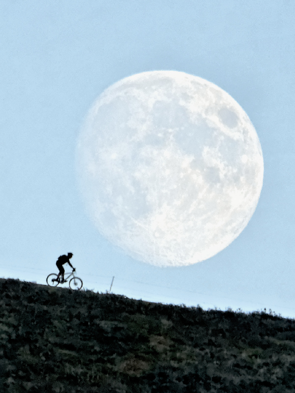 heading for the moon