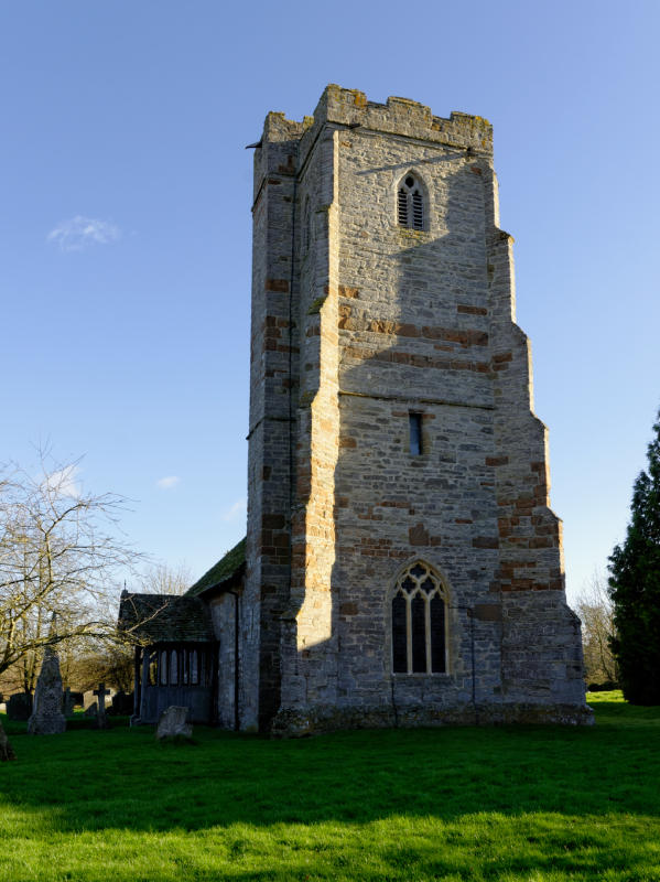 tower of Berrow Church