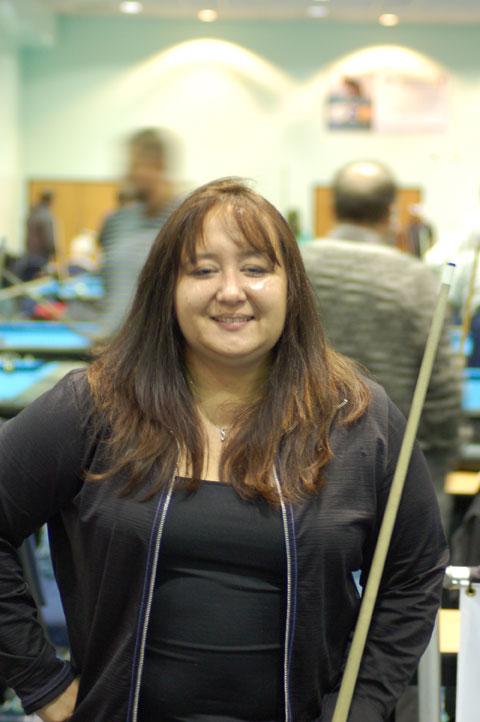 Andrea Saenz-Maes 1st Master Women