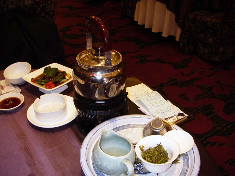 Tea 铁观音 Decanted into the Small Pitcher and Served 1938.jpg