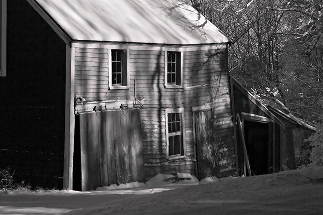 Old Barn IR #1 variation