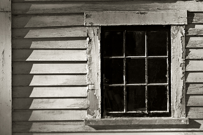 The Black House Barn Window, front