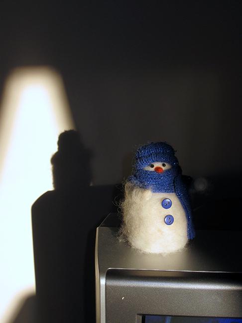 Little Snowman on TV #2