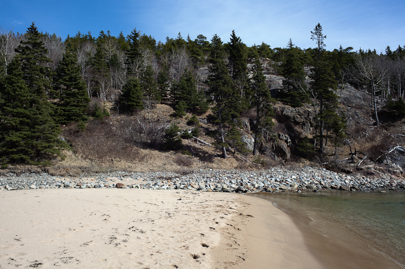 The North End of Sand Beach