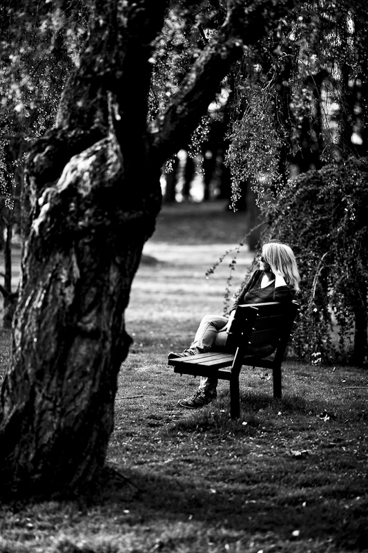 On a Bench in the Park #1