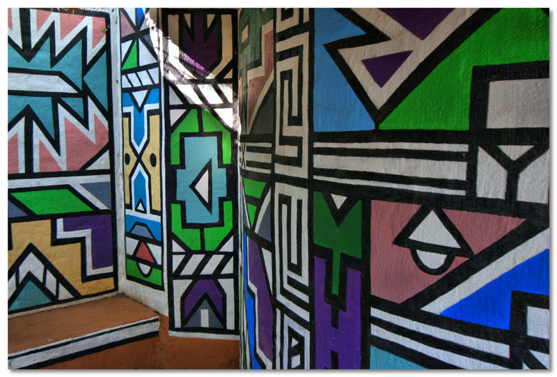 Ndebele Wall Decorations
