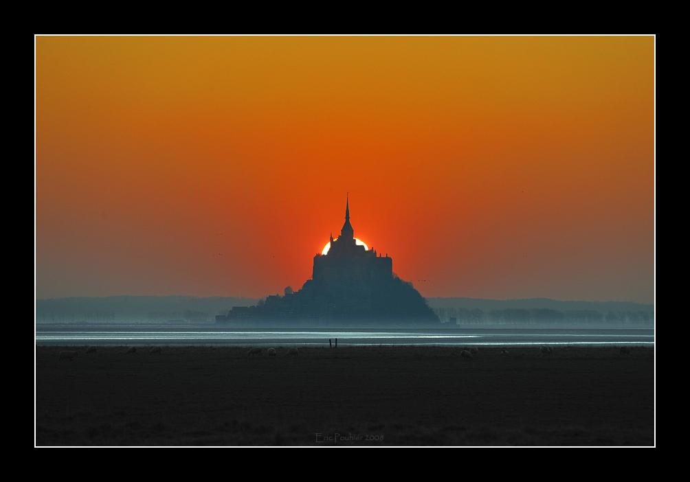 Coucher de soleil au mont st Michel (EPO_6584)