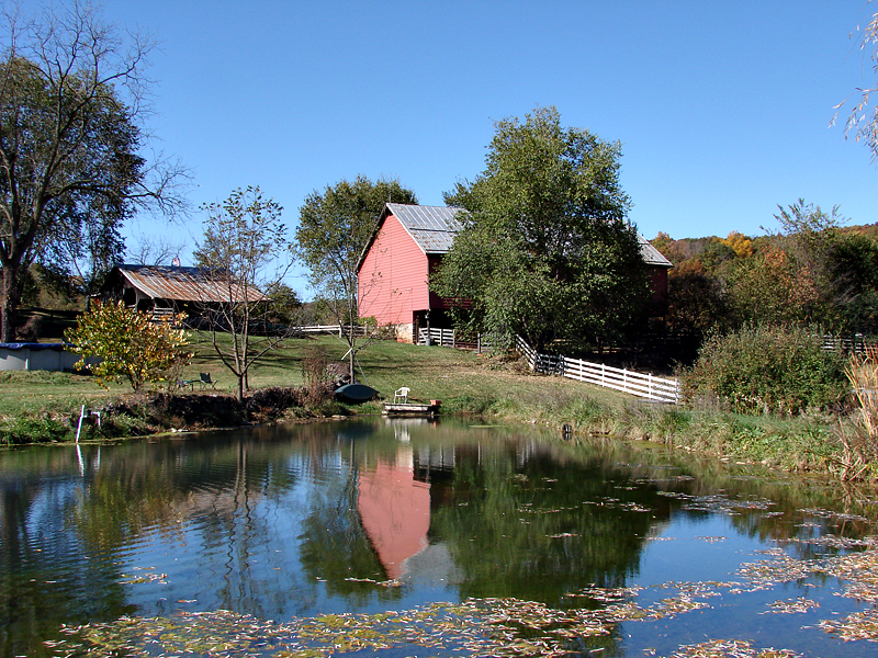 Shenandoah Valley: Homestead, Civil War-era barn