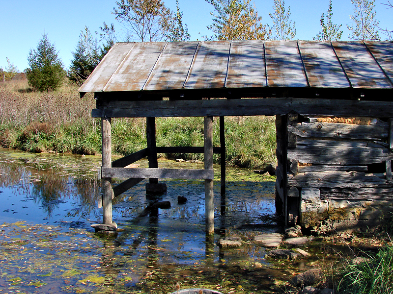 Shenandoah Valley: Revolutionary-era water building