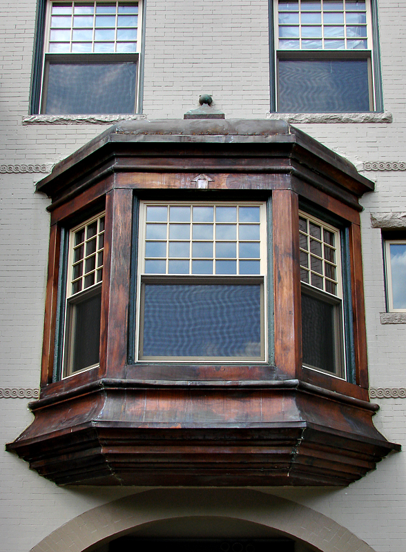 Copper windows