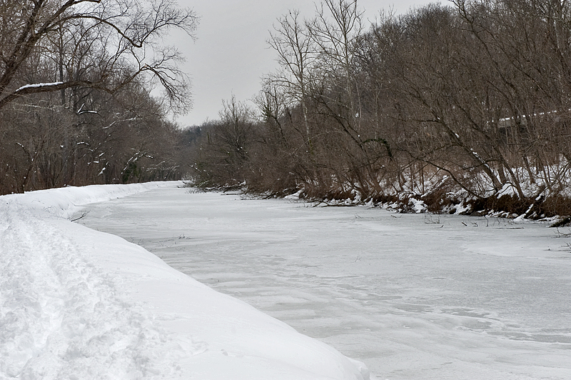 Frozen C&O Canal