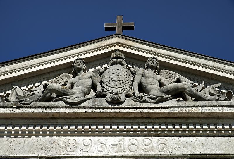 Pannonhalma, Millennium Monument, 896-1896