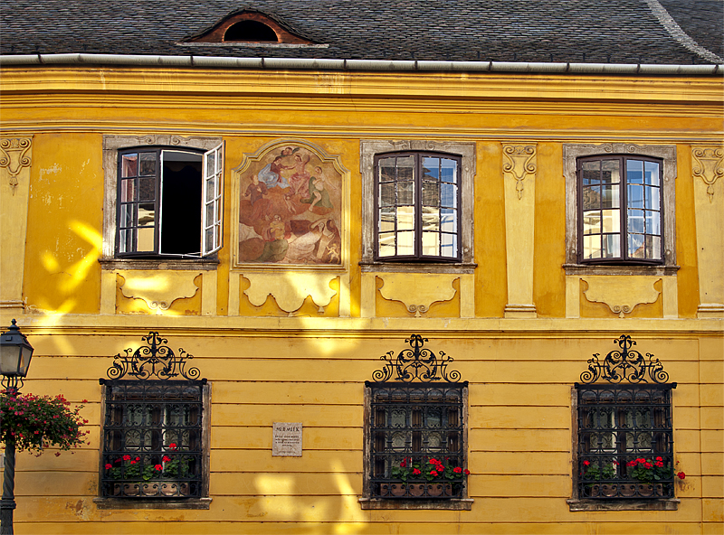 Gold in golden light