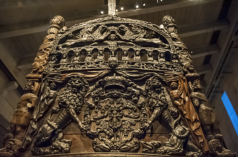 Vasamuseet (3), the stern