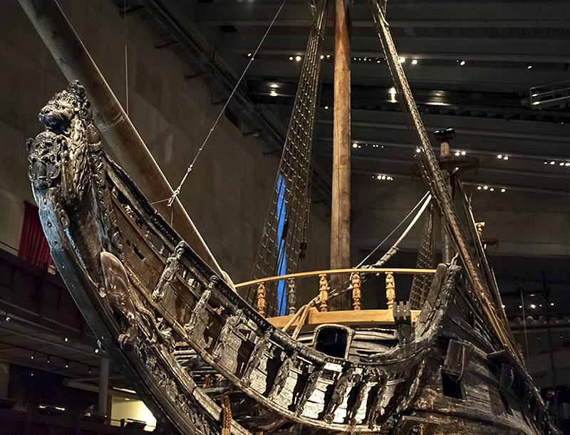 Vasamuseet (5), Vasa bow