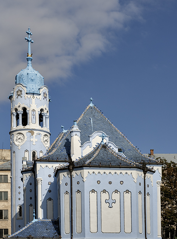 Church of St. Erzsébet (the Blue Church)