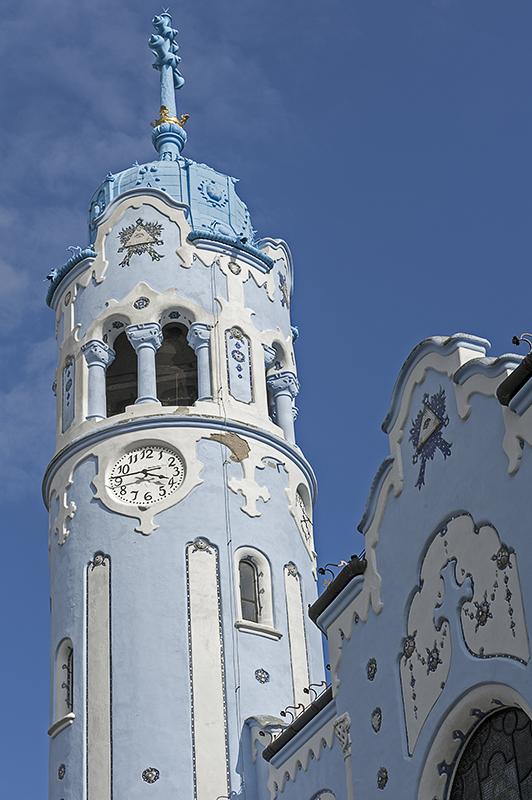 Blue Church, belfry