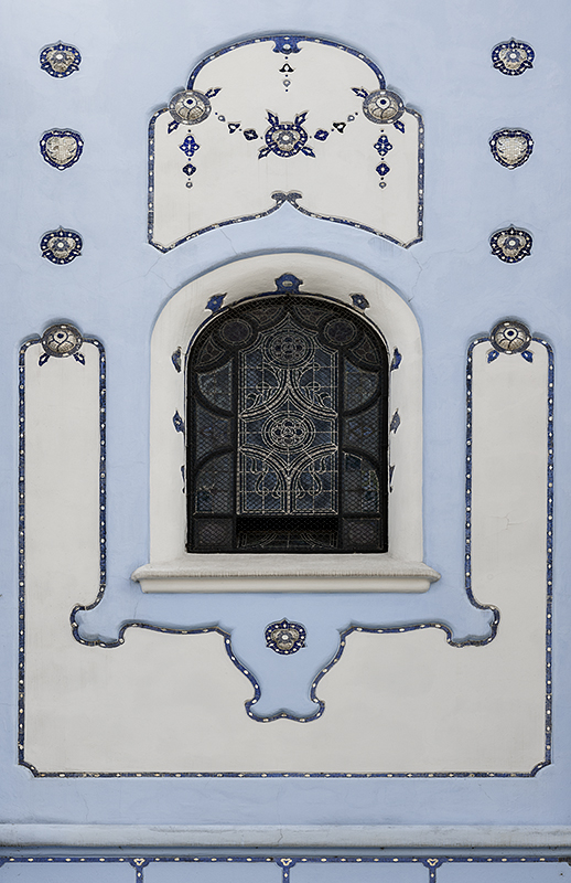 Blue Church, detail
