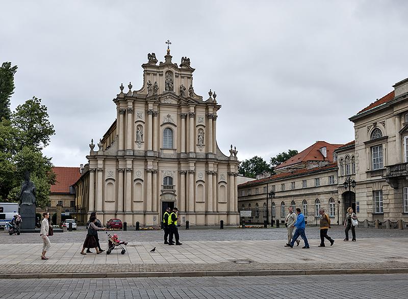 Warsaw churches, Wizytki Church