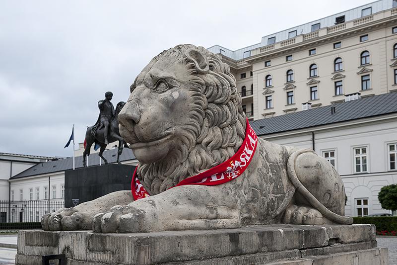 A very Polish lion
