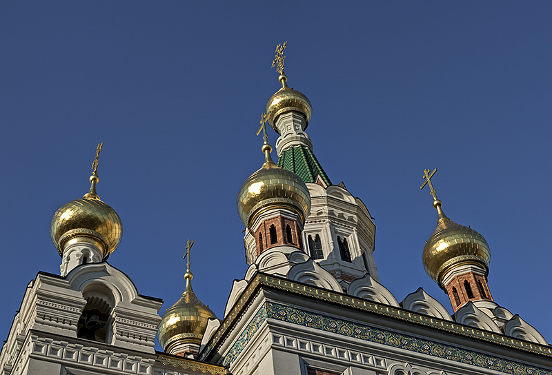Domes, late afternoon