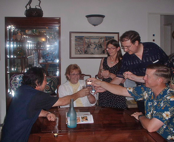 Awamori toast