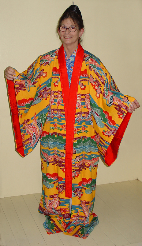 Kimono modeling