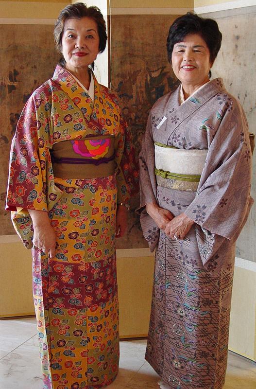 Ladies in kimono
