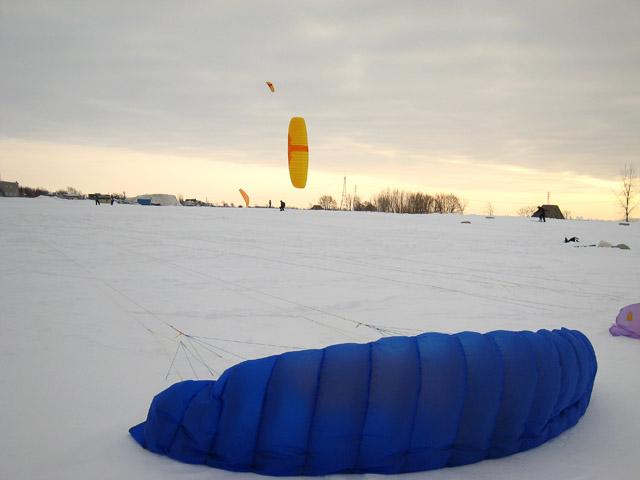 Ski en cerf-volant
