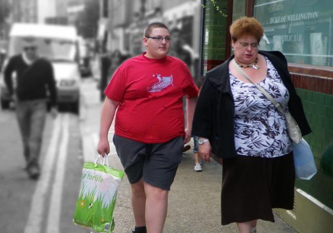 British Obese Family