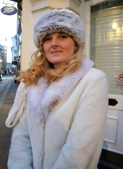 Charlotte, the Russian Model