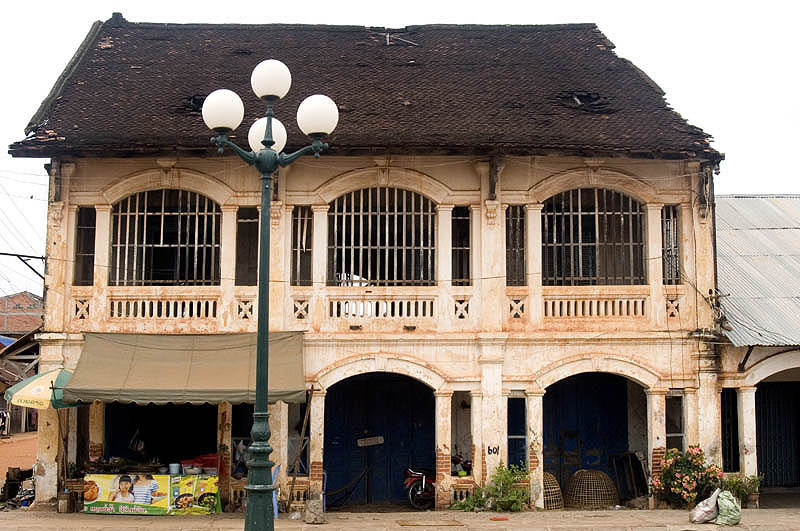 Colonial-era shophouses