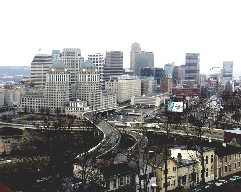 The city of Cincinnati