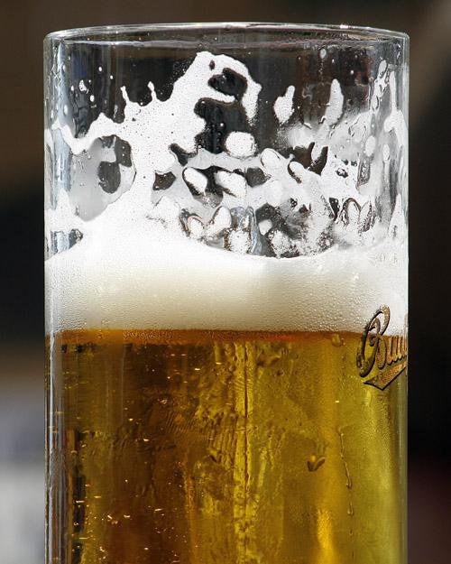 Beer on draft in Ireland