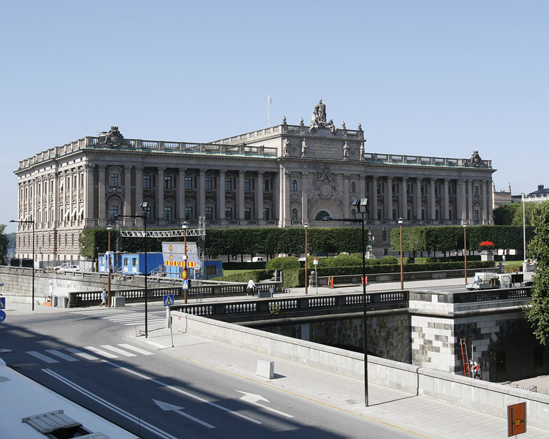 The Parliament in Stockholm, Sweden