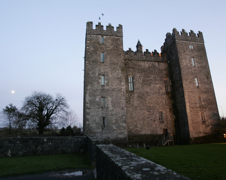 Irish castle near Shannon