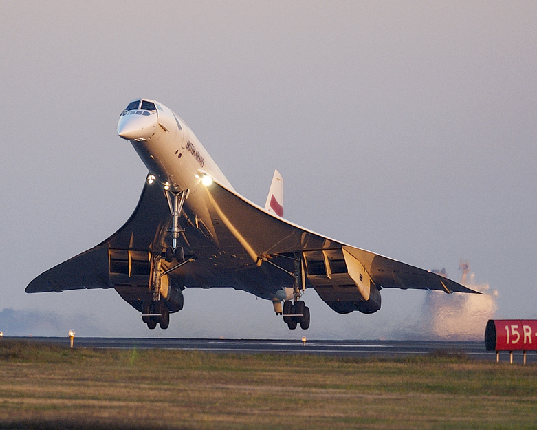 Last flight of the Concorde