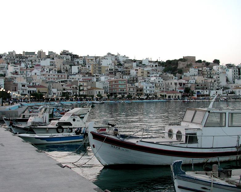 Sietta on the island of Crete