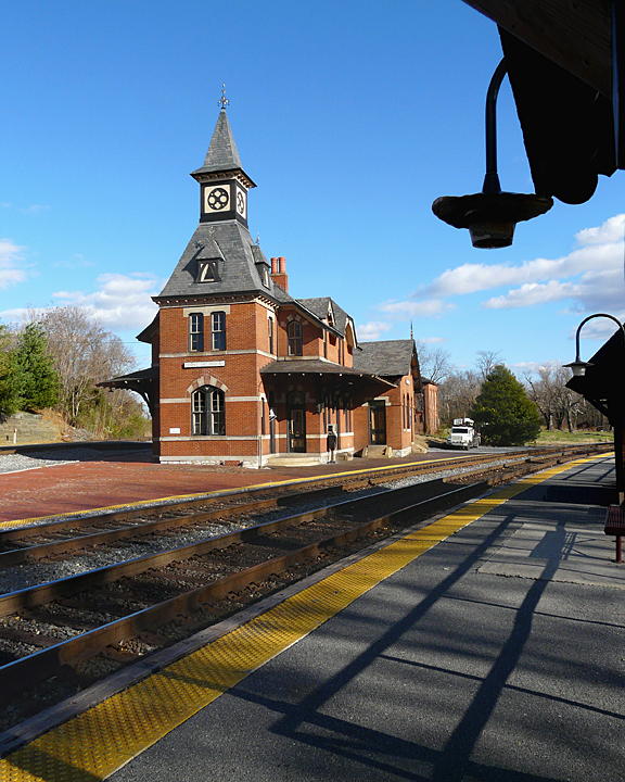 TRAIN STATION @ POINT-OF-ROCKS, MARYLAND