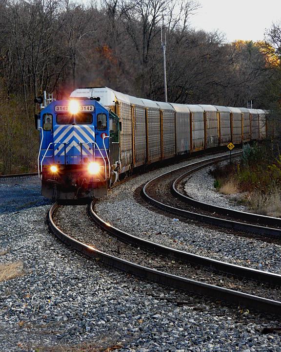 ONCOMING TRAIN