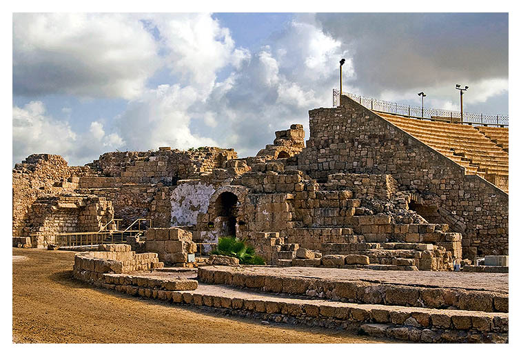 The Ruins of Caesarea