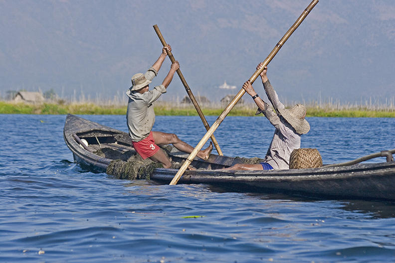 burma, inle lake 2004