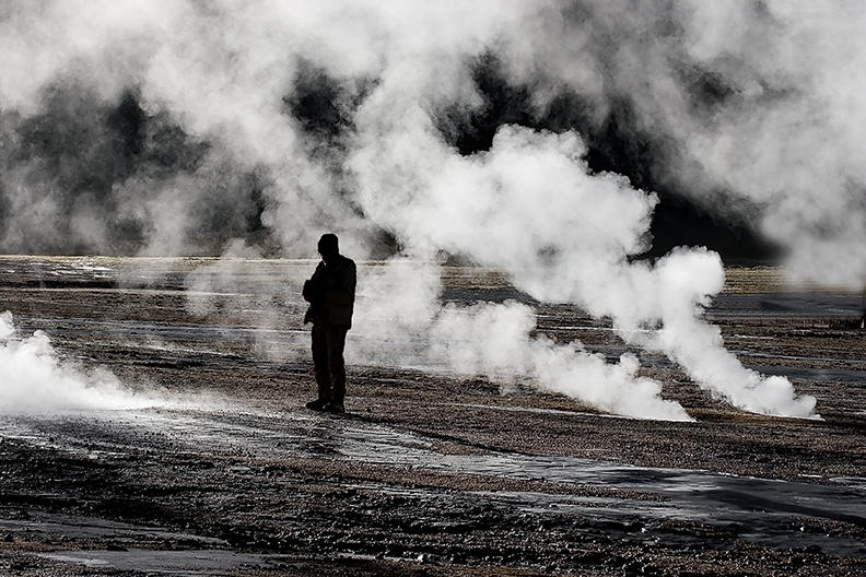 child, san pedro: El Tatio geysers,