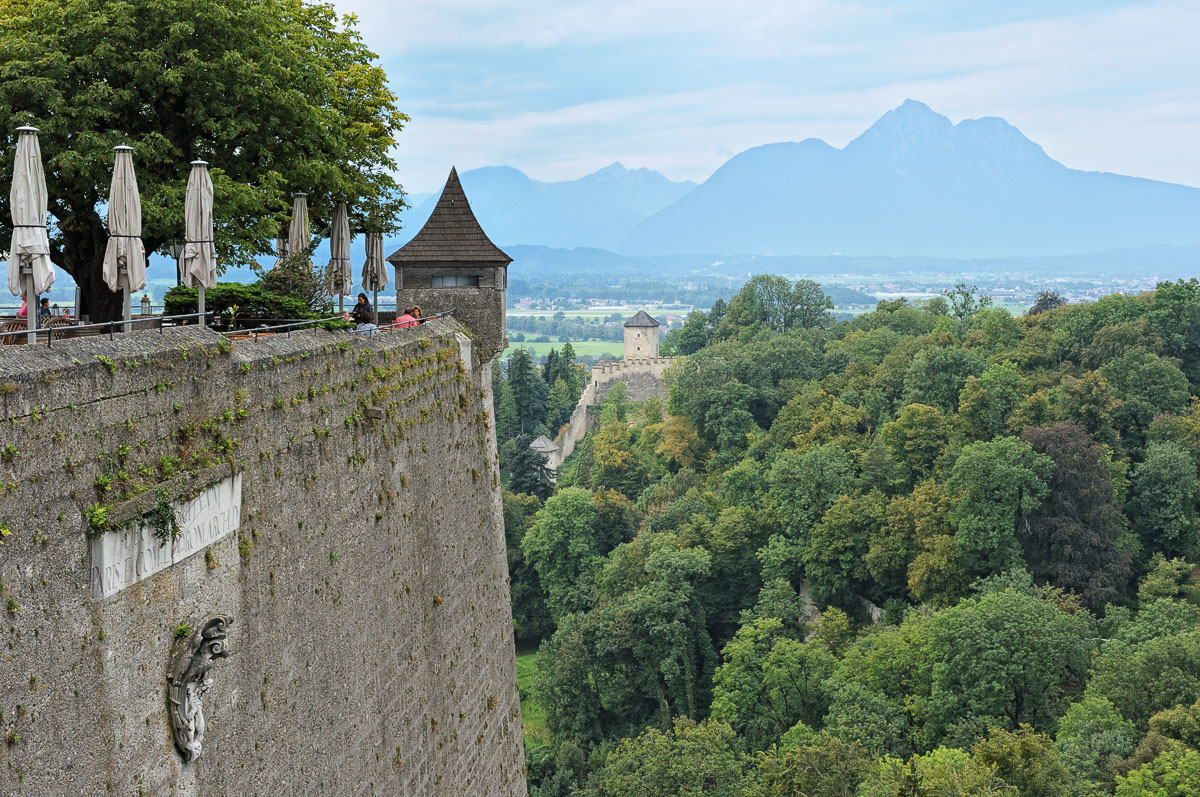 View West from the Salzburg Castle