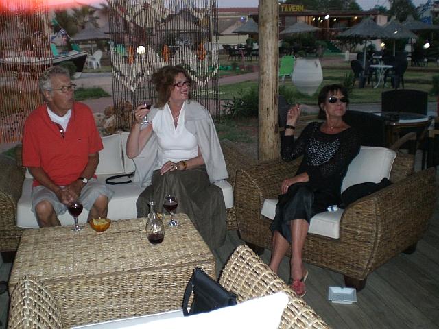 Drink at Maria, Anissaras beach