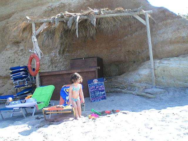 Niki at fathers beach ;-)