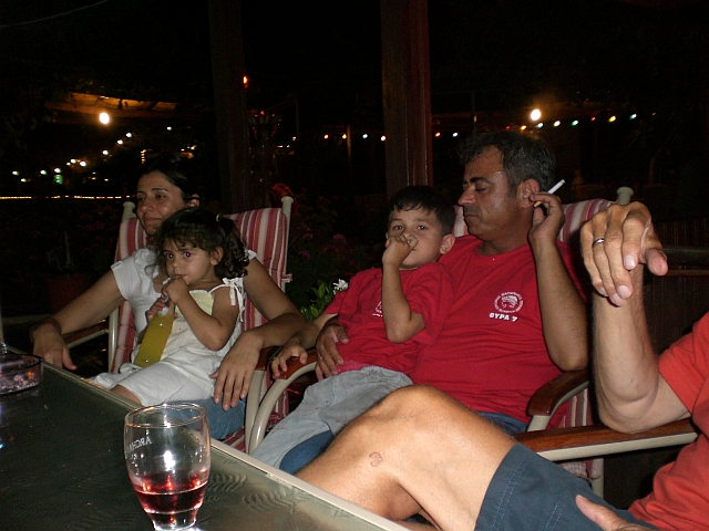 Evi & Vasilis with their children