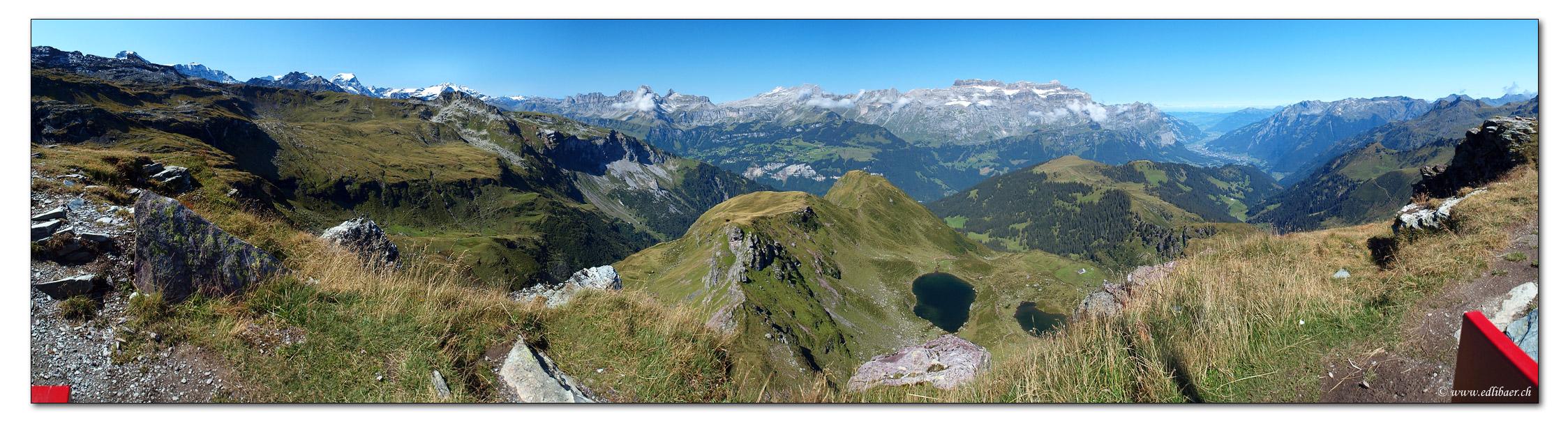 Leglerhuette im Glarnerland (2273 m)