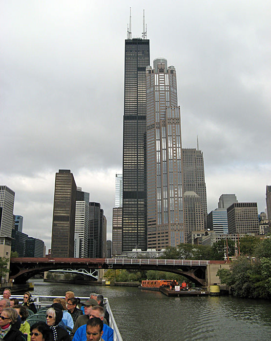 So you have context. Sears Bldg is tallest 1566